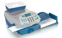 Pitney Bowes DM1000 franking cartridges and labels