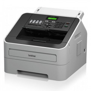 Brother FAX-2840 A4 Mono Laser Fax Machine Left View