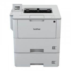 Brother HL-L6400DWT A4 Mono Laser Printer Front View