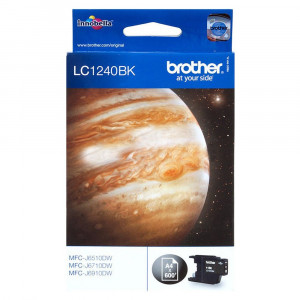 Brother LC1240BK Standard Yield Black Ink Cartridge (600 pages*)