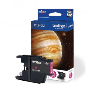 Brother LC1240M Standard Yield Magenta Ink Cartridge (600 pages*)