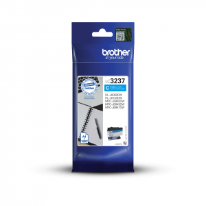 Brother LC3237C High Yield Cyan Ink Cartridge (1,500 Pages*)
