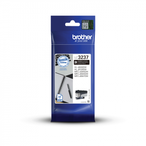 Brother LC3237BK High Yield Black Ink Cartridge (3,000 Pages*)