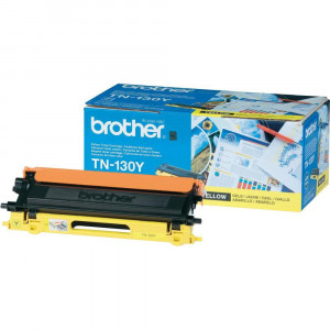 Brother TN130Y Yellow Toner Cartridge (1,500 pages*)