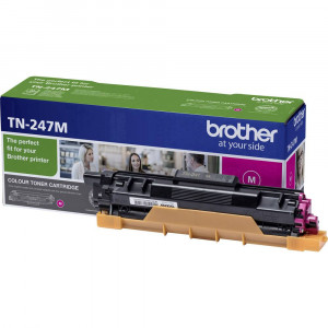 Brother TN247M High Yield Magenta Toner Cartridge (2,300 Pages*)