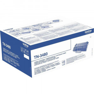 Brother TN-3480 High Yield Black Toner Cartridge (8,000 pages*) TN3480