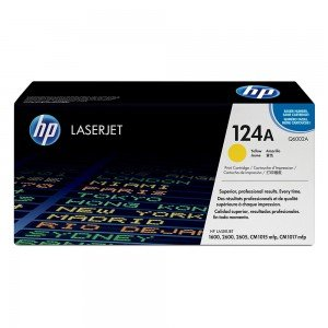 HP Q6002A Yellow Toner Cartridge (2,000 pages*)