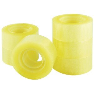 Q-Connect Polypropylene Tape 24mm x 33m (6 Pack) KF27014