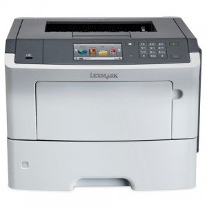 Lexmark MS610de A4 Mono Laser Printer  front view