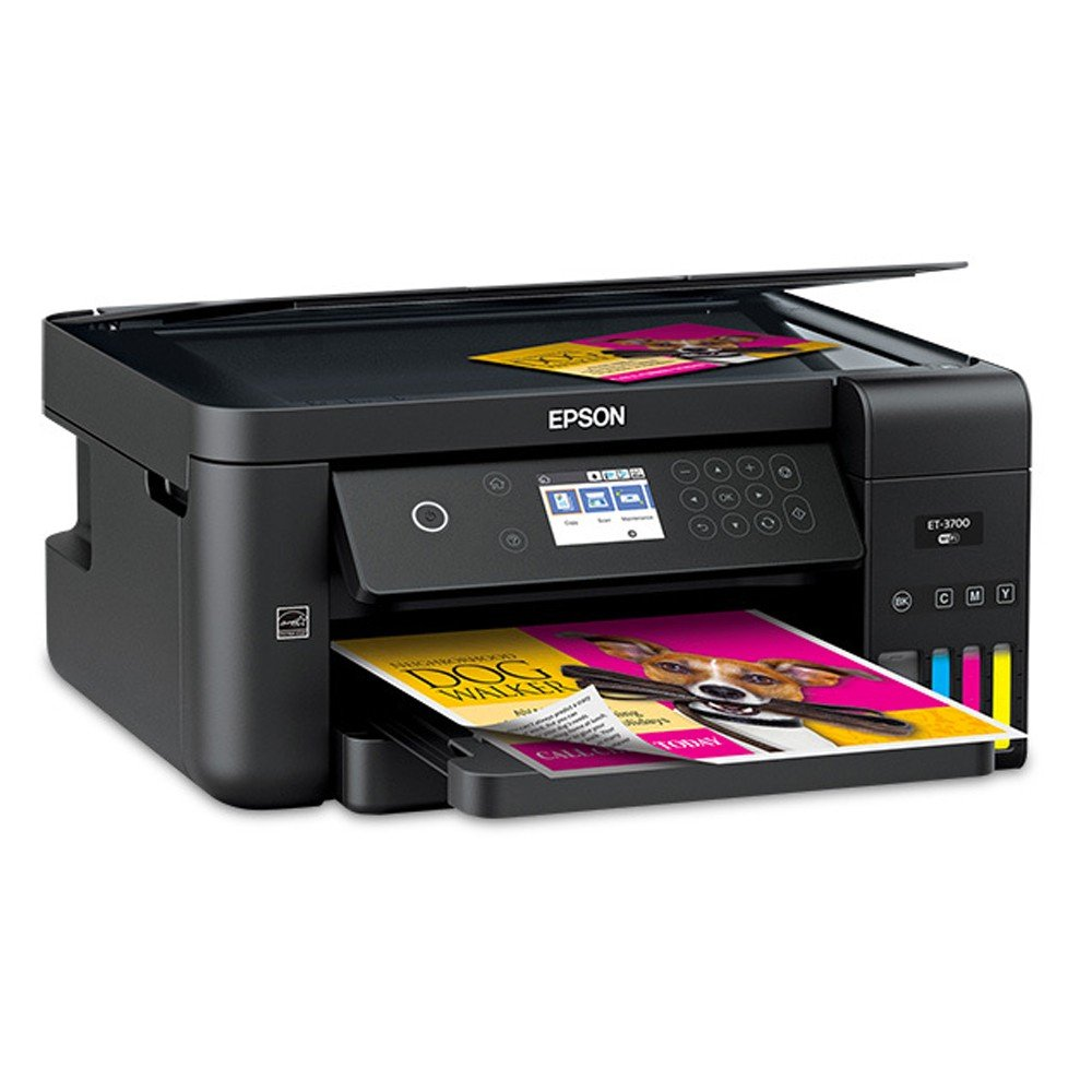 Epson EcoTank ET-3700 A4 Colour Multifunction Inkjet Printer