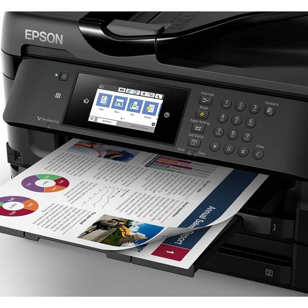 Epson Workforce Wf 7720dtwf A3 Colour Multifunction Inkjet