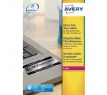Avery Silver Heavy Duty 45x21mm Laser Labels (960 Pack) L6009-20