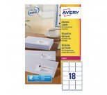 Avery White Quick Peel Address Labels 63x46mm (9000 Pack) L7161-500