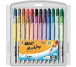 Bic Fine Colour Intense Assorted Permanent Markers 944096