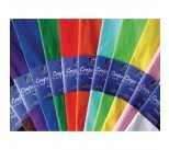 Bright Ideas Crepe Paper 500mm x 3m Assorted (12 Pack) BI0568
