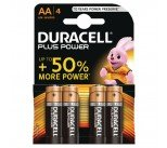 Duracell Plus AA Battery (4 Pack) 81275375