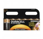 Duracell Plus Size C Battery (6 Pack) 81275434