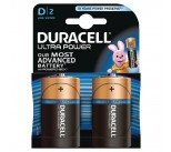 Duracell Ultra Power Size D Batteries (2 Pack) 75051964