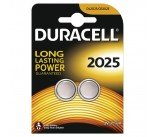 Duracell DL2025 3V Lithium Button Battery (2 Pack) 75072667