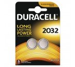 Duracell DL2032 3V Lithium Button Battery (2 Pack) 75072668