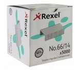 Rexel No.66 14mm Heavy Duty Staples (5000 Pack) 06075