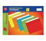 Assorted Vibrant C5 Peel and Seal Envelopes (10 Pack) UB70051