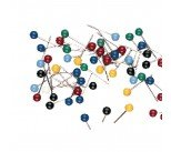 Map Pins Assorted (100 Pack) 26941