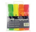 Assorted Hi-Glo Highlighters (4 Pack) 7910WT4