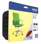 Brother LC229XLVALBP LC229XL High Yield CMYK Ink Cartridge Multipack