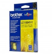 Brother LC1100HYY High Yield Yellow Ink Cartridge (750 pages*)