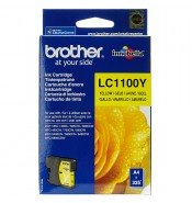 Brother LC1100Y Yellow Ink Cartridge (325 pages*)
