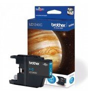 Brother LC1240C Standard Yield Cyan Ink Cartridge (600 pages*)