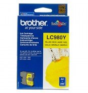 Brother LC980Y Yellow Ink Cartridge (260 pages ISO/IEC24711)