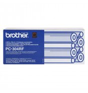 Brother PC304 4 Ribbon Refill pack - 235 pages per ribbon PC304RF