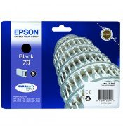 Epson C13T79114010 79 Black Ink Cartridge (900 Pages*)