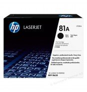 HP CF281A#B19 81A Black Toner Cartridge (10,500 Pages*) CF281A