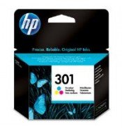 HP CH562EE 301 Tri-Colour Ink Cartridge (165 pages*)