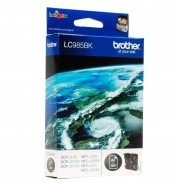 Brother LC985BK Black Ink Cartridge (300 pages*)
