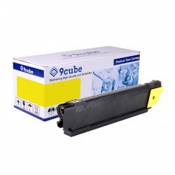 Compatible Oki 43865721 Yellow Toner Cartridge (6,000 Pages*)