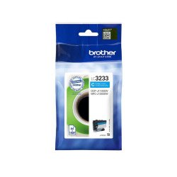 Brother LC3233C Standard Cyan Ink Cartridge (1,500 Pages*)