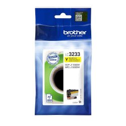 Brother LC3233Y Standard Yellow Ink Cartridge (1,500 Pages*)
