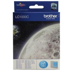 Brother LC1000C Cyan Ink Cartridge (400 pages*)