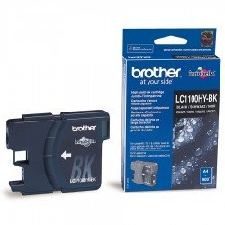 Brother LC1100HYBK High Yield Black Ink Cartridge (900 pages*)
