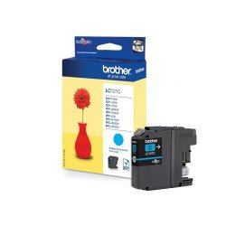 Brother LC121C Cyan Ink Cartridge (300 pages*)