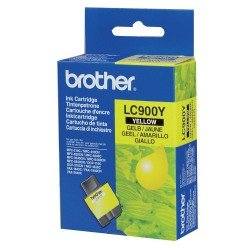 Brother LC900Y Yellow Ink Cartridge (400 pages*)