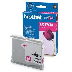 Brother LC970M Magenta Ink Cartridge (300 pages*)