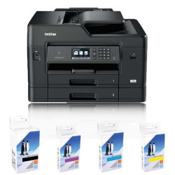 Brother MFC-J6930DW A3 Colour Multifunction Inkjet Printer Front View