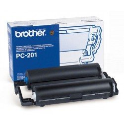 Brother PC201 Print Cartridge + Single Ribbon (420 pages*)