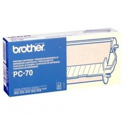 Brother PC70 Ribbon Cartridge - 1x cassette and 1x ribbon (144 pages*)