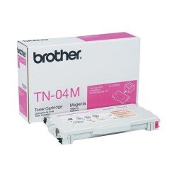 Brother TN04M Magenta Toner (6,600 pages @ 5%)